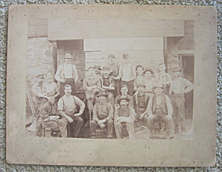 Group of Miners. Photograph, KLONDIKE.